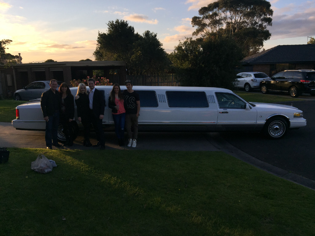 special night out limousine hire