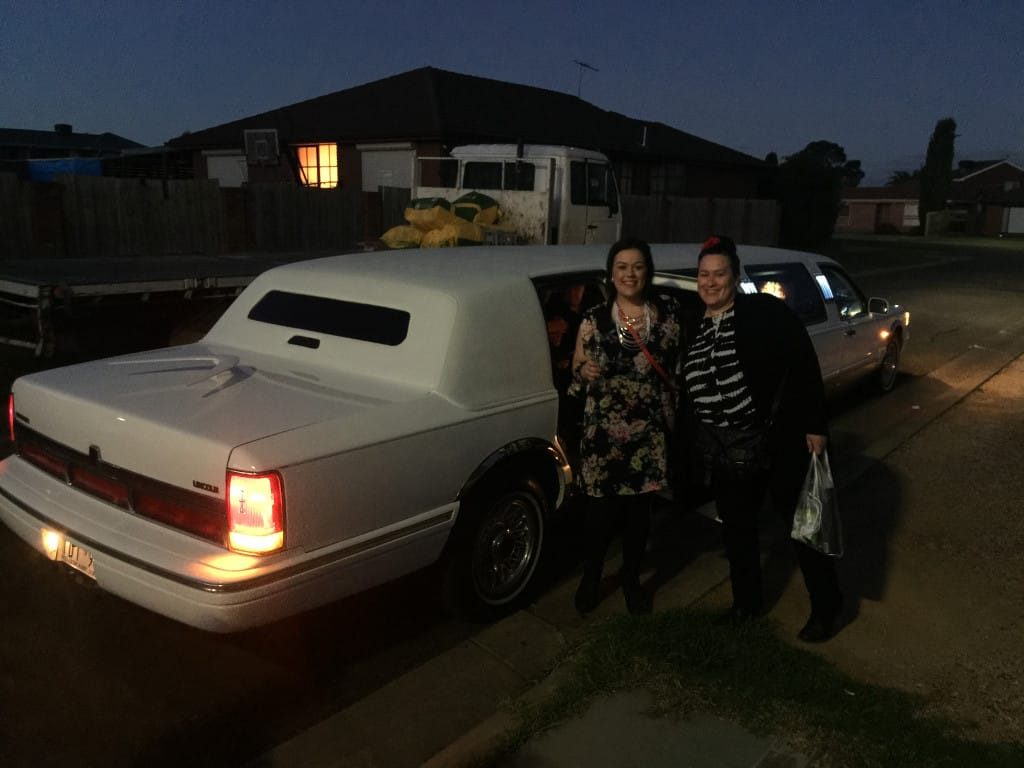 Melbourne limo hire with hens night