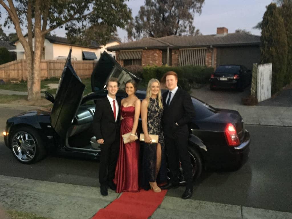 debutante car hire