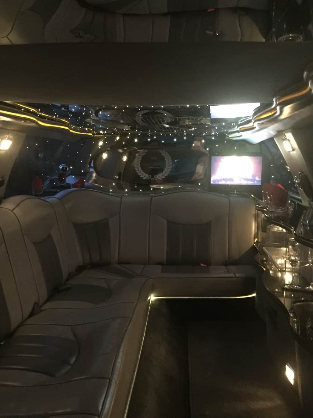 Highroller Limousine Melbourne, Lincoln Interior