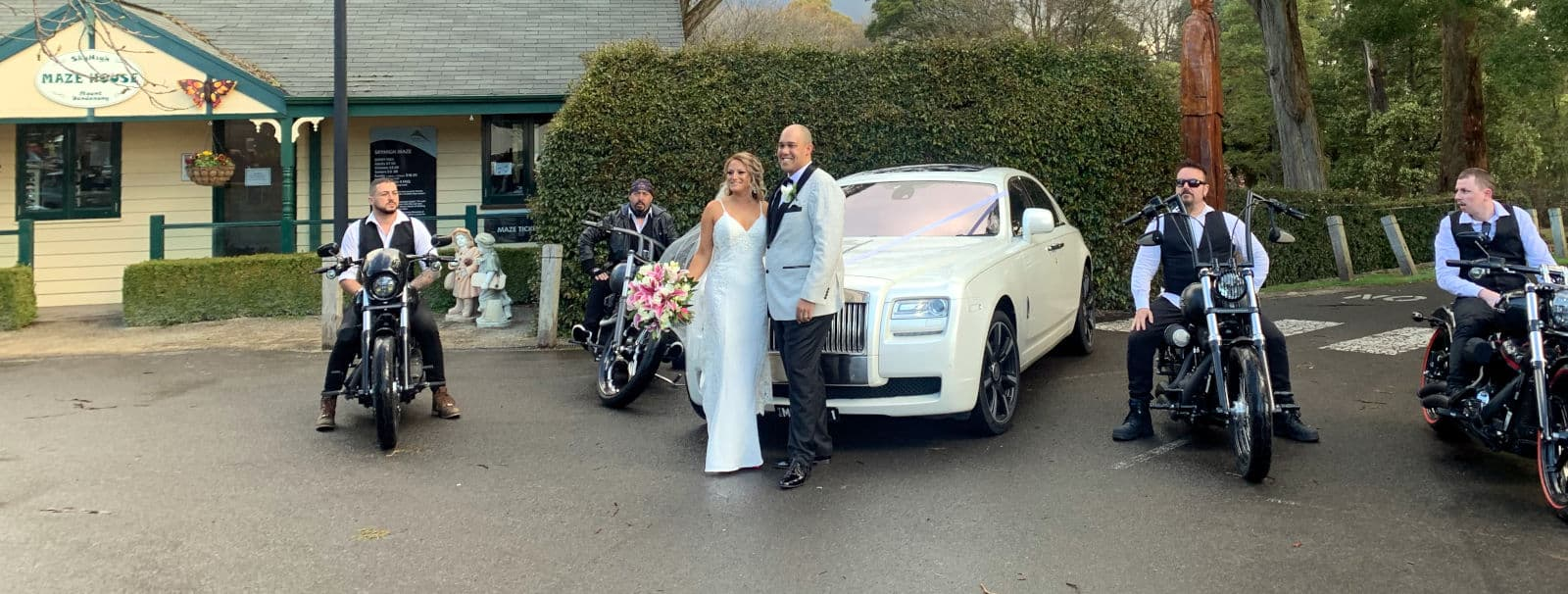 White-wedding-with-Harley-escort