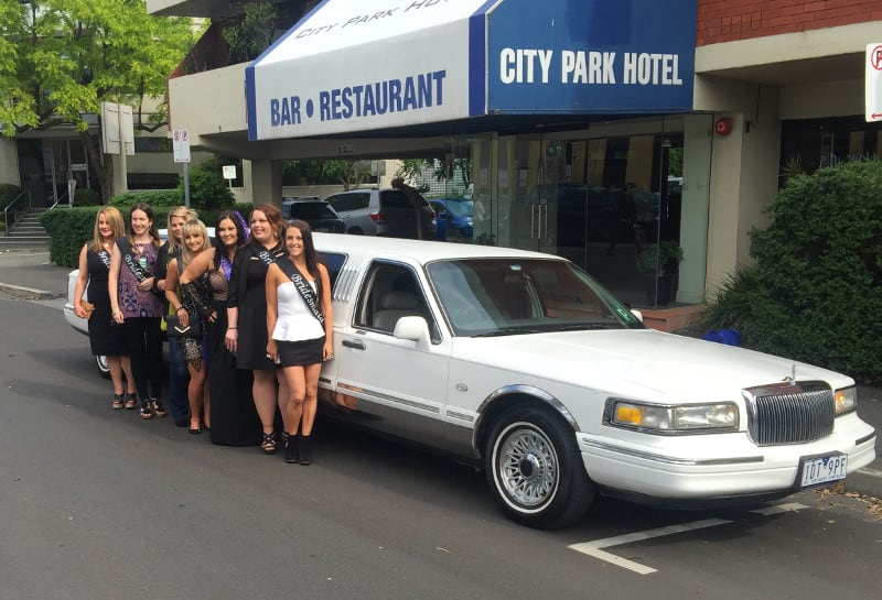 hens night car hire with High Roller