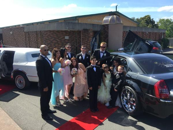 Wedding chauffeur cars Melbourne